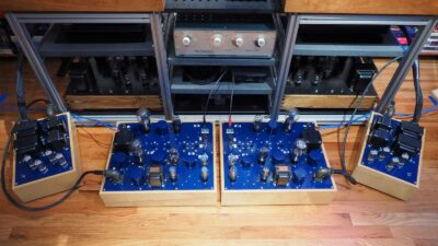 Galibier Design - NiWatt and Karna Amplifiers