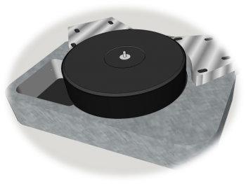 Galibier Design - Eiger Turntable Concept Drawing