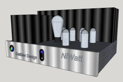 Galibier Design - NiWatt 3D Rendering