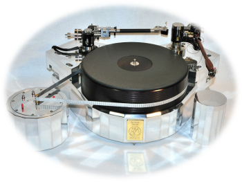 Galibier Design - Stelvio II Turntable - Front View